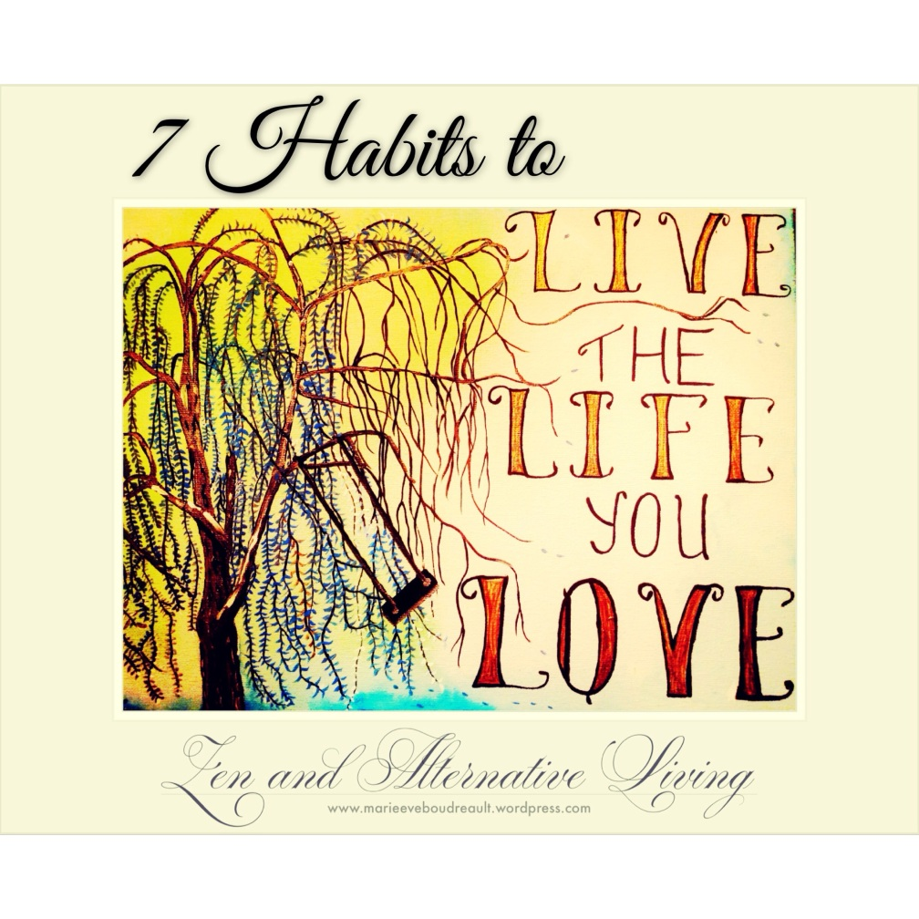 live the life you love be in love with the simple life happiness book author blog marie eve boudreault