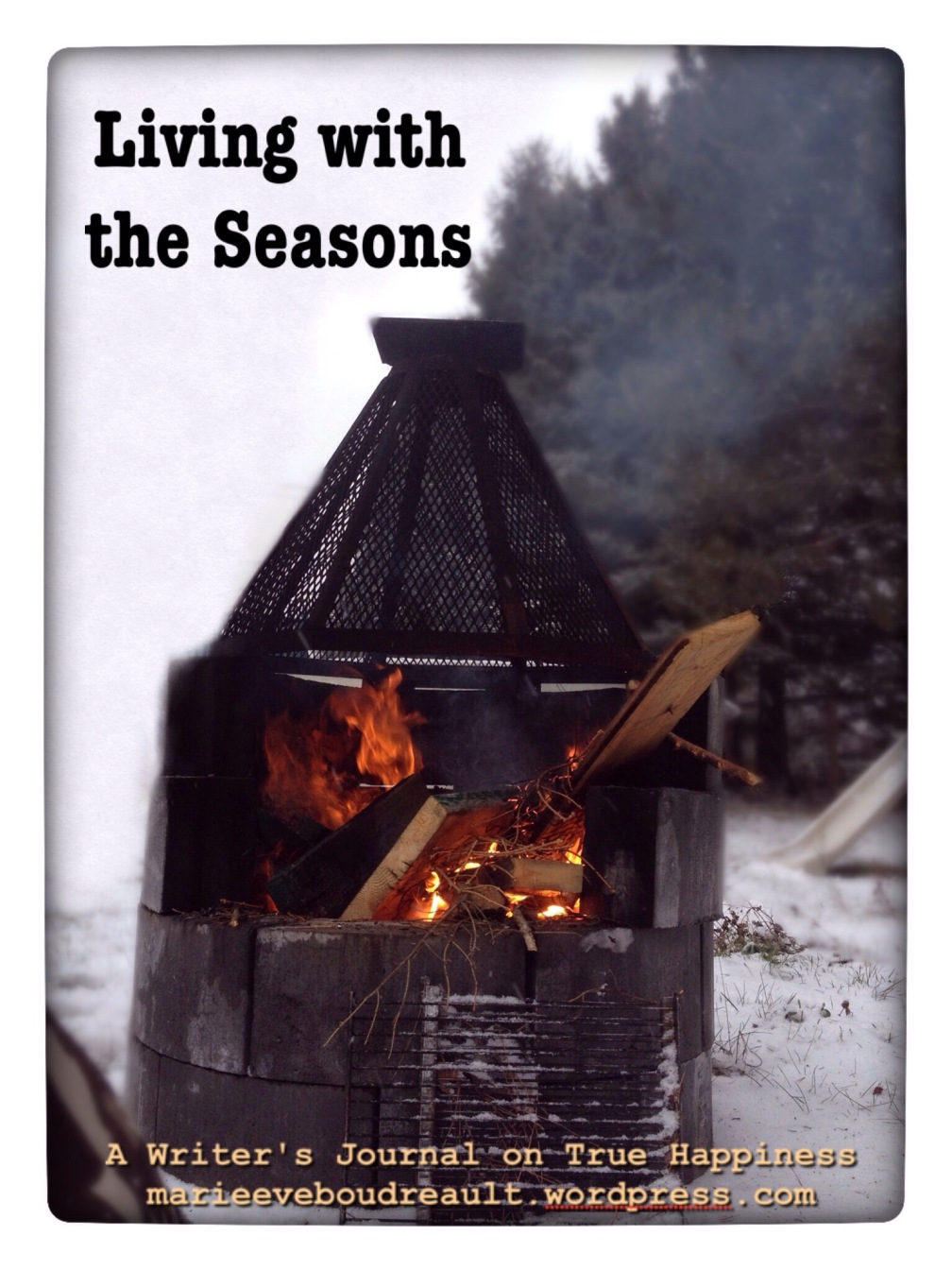 Living with the seasons entering winter as a season of rest journal true happiness marie-eve boudreault blog book how to live winter